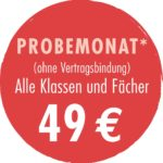 Probemonat bei back2school in Moers-Asberg